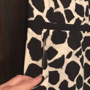LOFT Dresses - Loft animal print dress - size 8